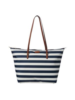 Product image. QUICK VIEW. Lauren Ralph Lauren. Medium Striped Nylon Tote.   178.00 · Colourblock Crossbody Bag NAVY f9a345e0d61fb