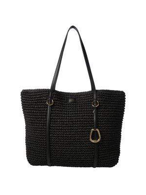 Product image. QUICK VIEW. Lauren Ralph Lauren. Large Crochet Straw Tote be9e509d6fe65