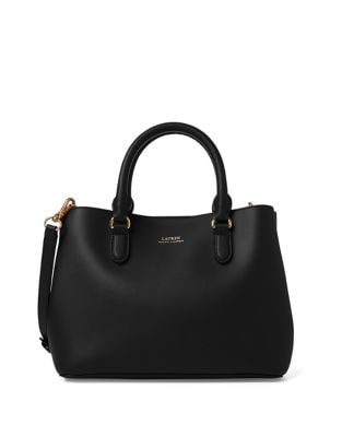 cdcda266e3af QUICK VIEW. Lauren Ralph Lauren. Mini Leather Satchel