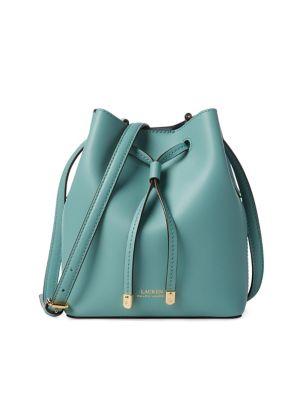 QUICK VIEW. Lauren Ralph Lauren. Debby II Leather Mini Drawstring Shoulder  Bag ec3bd09020a12