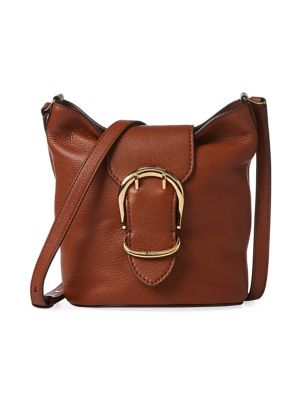 Product image. QUICK VIEW. Lauren Ralph Lauren. Pebbled Leather Bucket Bag 346fc35a0e7d5