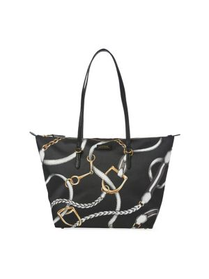 1a805ef969 Lauren Ralph Lauren. Printed Crossbody Bag.  128.00 Now  89.60 · Classic  Equestrian Tote BLACK SIGNATURE. QUICK VIEW. Product image