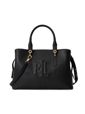 83a6691ea Product image. QUICK VIEW. Lauren Ralph Lauren. Medium Leather Satchel