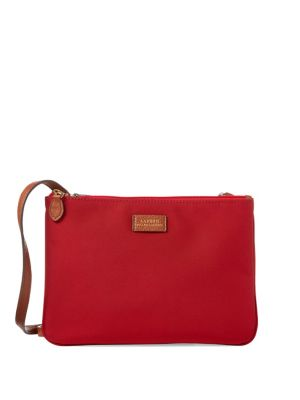 a0ba94dfaf2d Product image. QUICK VIEW. Lauren Ralph Lauren. Double-Zip Crossbody Bag.   118.00 Now  76.70
