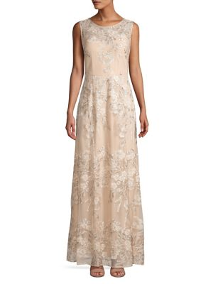 2cb0b8ecf2 Product image. QUICK VIEW. Alex Evenings. Embroidered Sequin Gown