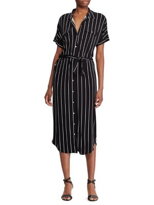 daa4b7ee39 Product image. QUICK VIEW. Lauren Ralph Lauren. Straight-Fit Striped  Shirtdress
