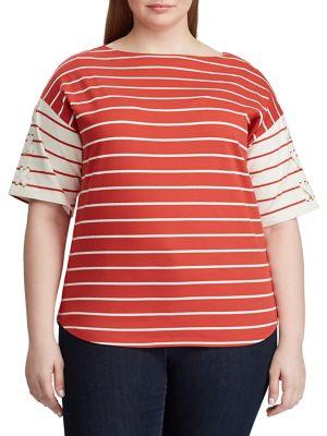 53b2e0b2b1fd Women - Women's Clothing - Plus Size - Tops - thebay.com
