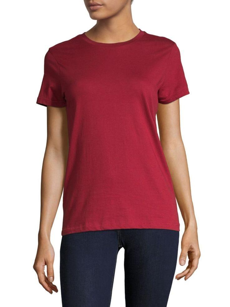 1f7201c0e32d7 Design Lab Lord   Taylor - Organic Cotton Crew Neck T-Shirt - thebay.com