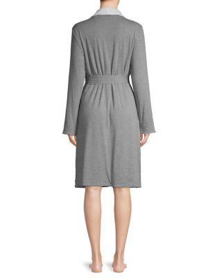 Reversible Long Plush Robe by Elysian