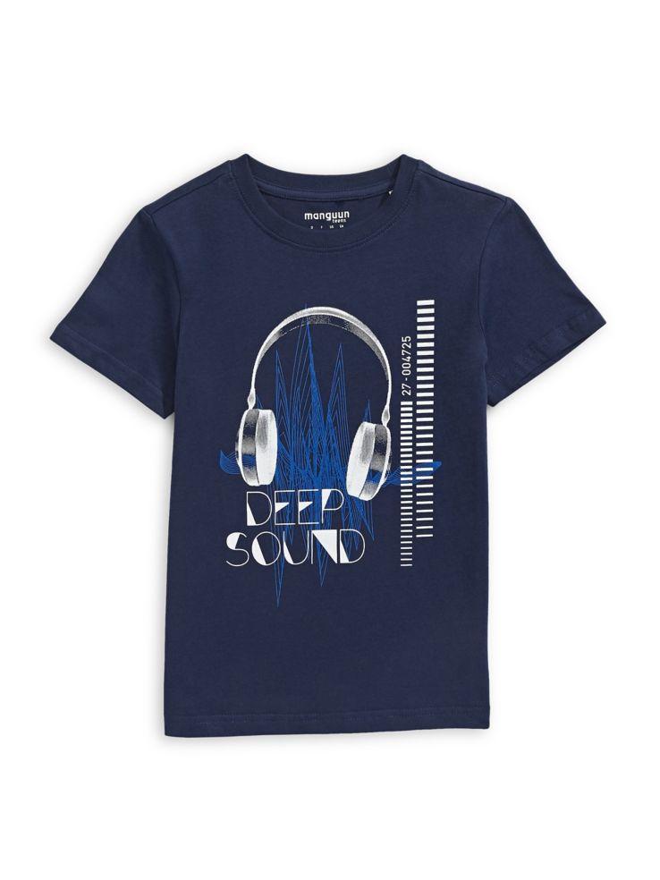 50d2886a6bbd Manguun - T-shirt à imprimé en coton pour garçon - labaie.com