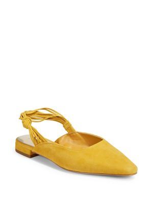 5f47c02cf QUICK VIEW. Lord   Taylor. Suede Slingback Flats