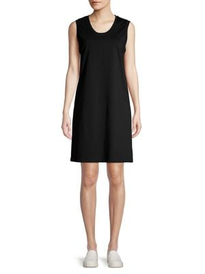 f9fba7463518 Scoop Neck Tank Dress BLACK. QUICK VIEW. Product image