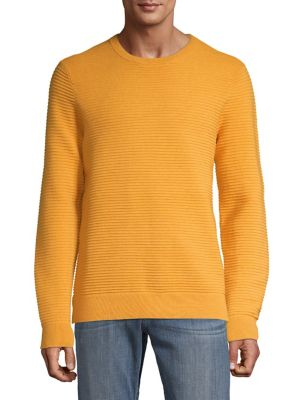 42ccd770bc6bf9 Product image. QUICK VIEW. Black Brown 1826. Ottoman Stitch Crew Neck  Sweater