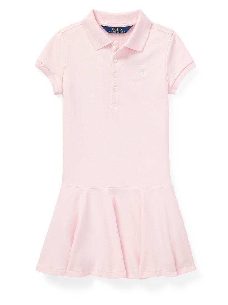 0a371de7fe7 Ralph Lauren Childrenswear - Little Girl s Stretch Mesh Polo Dress ...