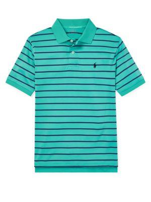 c87bc4e6b QUICK VIEW. Ralph Lauren Childrenswear. Boy s Performance Lisle Polo Shirt