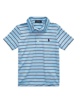 21fe676b0 Product image. QUICK VIEW. Ralph Lauren Childrenswear. Little Boy's Striped  Short-Sleeve Polo. $45.00 Now $20.25