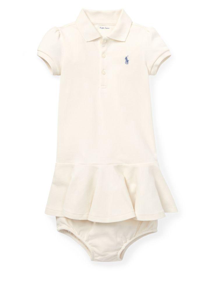 9e1fb11ed Ralph Lauren Childrenswear - Baby Girl s Two-Piece Piqué Polo Dress ...