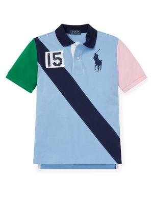 da1e3964 Product image. QUICK VIEW. Ralph Lauren Childrenswear. Boy's Cotton Polo  Shirt