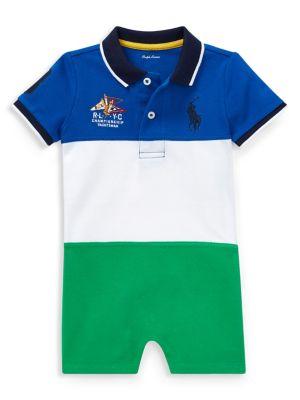 73301195ee2e4 Product image. QUICK VIEW. Ralph Lauren Childrenswear. Baby Boy's  Colourblock Cotton Shortalls. $45.00