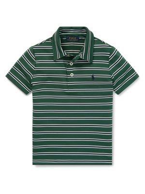 795ab4ce7 QUICK VIEW. Ralph Lauren Childrenswear. Little Boy's Striped Short-Sleeve  Polo