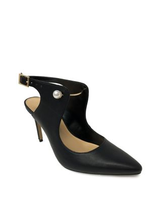 Serena Leather Point Toe Pumps by Expression