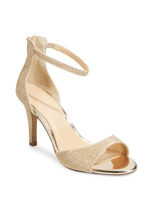 Nina Glitter Heeled Sandals by Expression