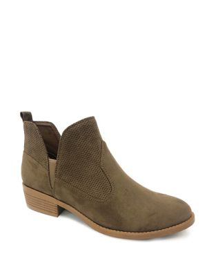 Atwell Slip On Booties by Lexi & Abbie