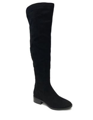 Lila Laser Cut Over The Knee Boots by Lexi & Abbie