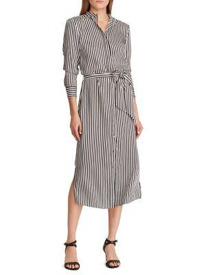 60296bbefd Product image. QUICK VIEW. Lauren Ralph Lauren. Striped Twill Shirtdress