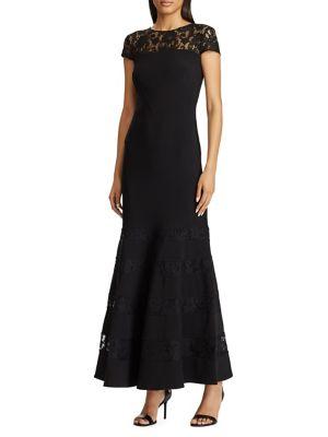 4e294c572b0 Product image. QUICK VIEW. Lauren Ralph Lauren. Lace-Panel Mermaid Gown