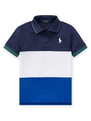 68ea32125 Product image. QUICK VIEW. Ralph Lauren Childrenswear. Little Boy's  Colourblocked Polo