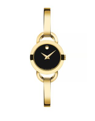 eaa19bbba Product image. QUICK VIEW. Movado. Rondiro Goldtone Analog Watch. $795.00  Now $635.99 · Museum Sport Chrono SILVER