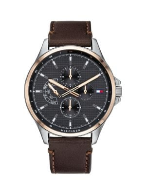 ankommen gut aussehend Los Angeles Shawn Leather Strap 1791615 Chronograph Watch