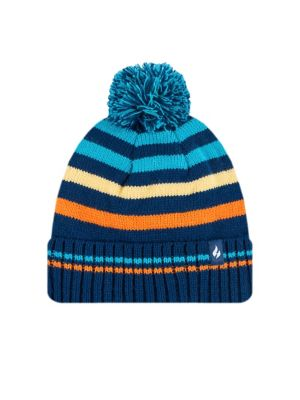 e1d82619 QUICK VIEW. Heat Holders. Kid's Striped Jacquard Beanie