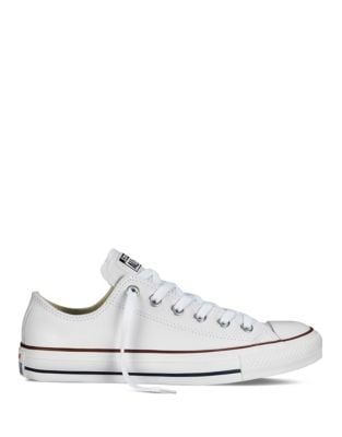 Product image. QUICK VIEW. Converse. Womens Chuck Taylor All Star Seasonal  Leather Sneakers.  85.00 Now  80.00 9ecf0375f3686