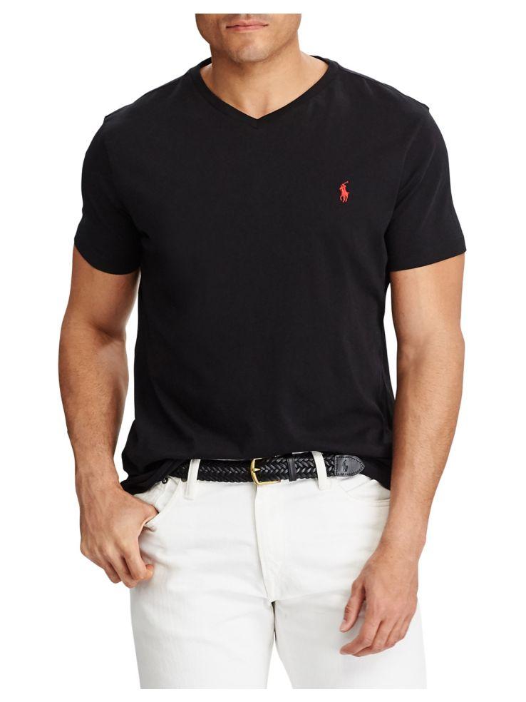 1c8a6a97c8e8 Polo Ralph Lauren - Big and Tall Cotton Jersey V-Neck T-Shirt ...