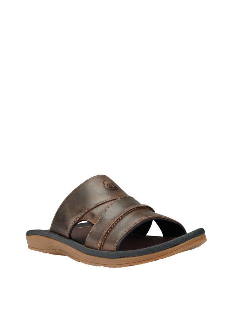 4c1c74880735 Timberland - Original Leather Slides - thebay.com