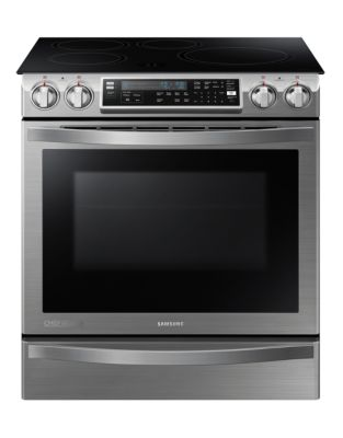 5.8 cu. ft Inducton Slide in Electric Range (Stainless Steel) photo