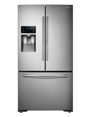 RF23HTEDBSR/AA 22.5 cu. ft. Counter Depth 3-Door French Door Refrigerator photo