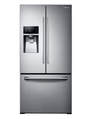 RF26J7500SR/AA 25.5 cu. ft. 3-Door French Door Refrigerator - Stainless Steel photo