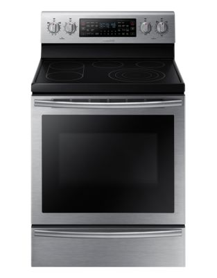 NE59J7750WS/AC 5.9 cu. ft. Freestanding Flex Duo Electric Range (Stainless Steel) photo