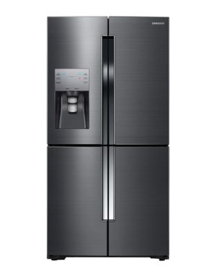 RF23J9011SG/AA 36-inch 22.5 Cu. Ft. Counter Depth 4-Door Refrigerator- Black Stainless photo