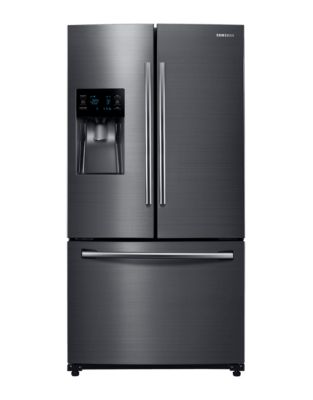 RF263BEAESG/AA 36-inch 24.6 Cu. Ft. French Door Refrigerator with Twin Cooling Plus- Black Stainless photo