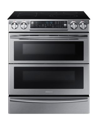 NE58K9850WS/AC 5.8 cu. ft. Electric Range with Flex Duo Oven System- Stainless Steel photo