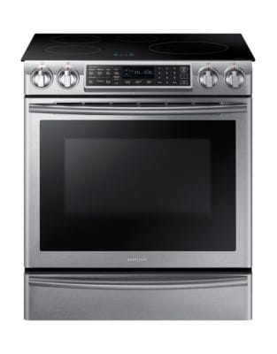 NE58K9560WS/AC 5.8 cu. ft. Induction Range with Virtual Flame Technology- Stainless Steel photo