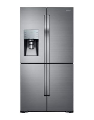 RF28K9070SR/AA 36-inch 28 Cu. Ft. French Door Refrigerator with FlexZone- Silver Stainless photo