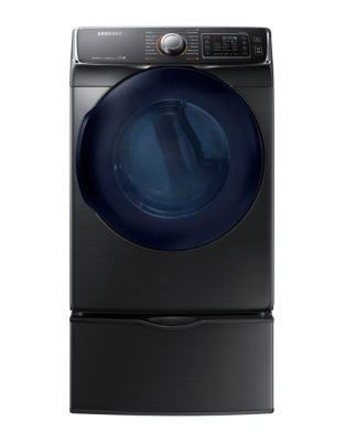 DV45K6500EV/AC 7.5 cu. ft. Front-Load Electric Dryer in Black Stainless Steel photo