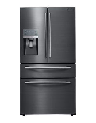 RF28JBEDBSG/AA 36-inch 27.8 cu. ft. 4-Door French Door Refrigerator in Black Stainless Steel photo