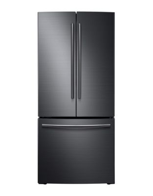 RF220NCTASG/AA 21.6 cu. ft French Door Refrigerator - Black Stainless Steel photo