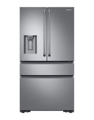 RF23M8090SR/AA 23 Cu. Ft. Counter-Depth 4-Door Refrigerator - Stainless Steel photo